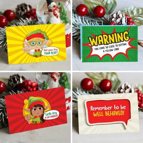 North Pole Behaviour Cards