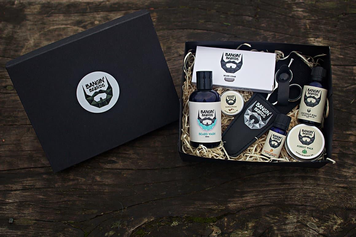 Bangin Beards Large Gift Box