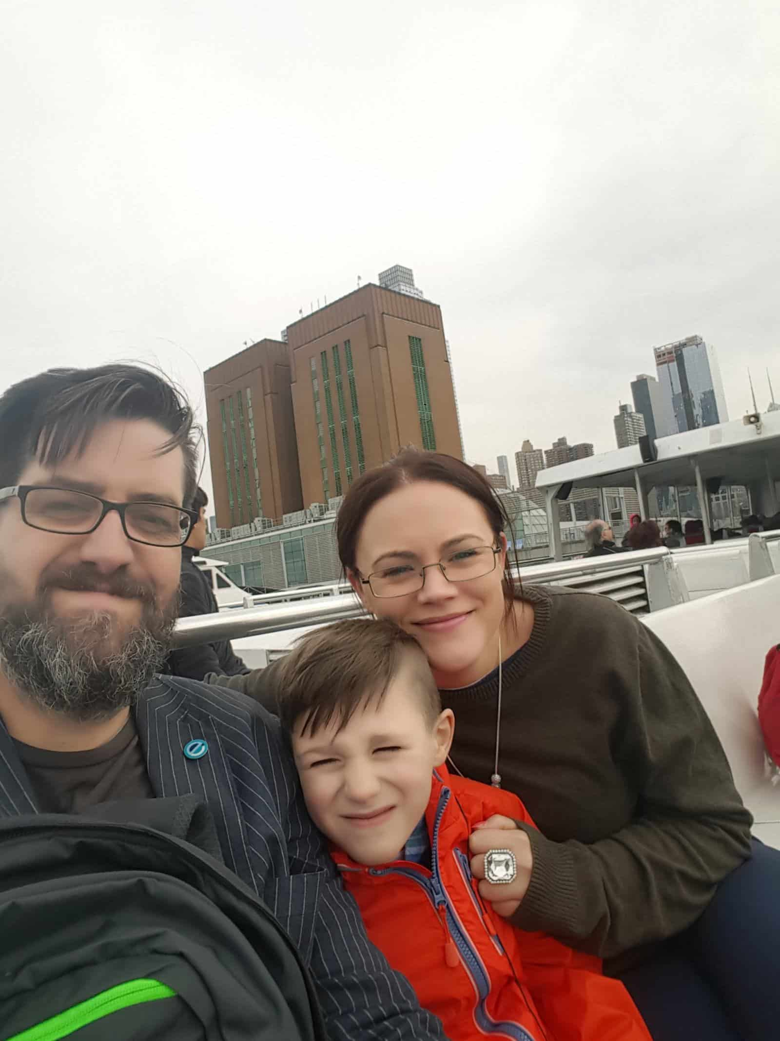 Hudson River Cruise in March