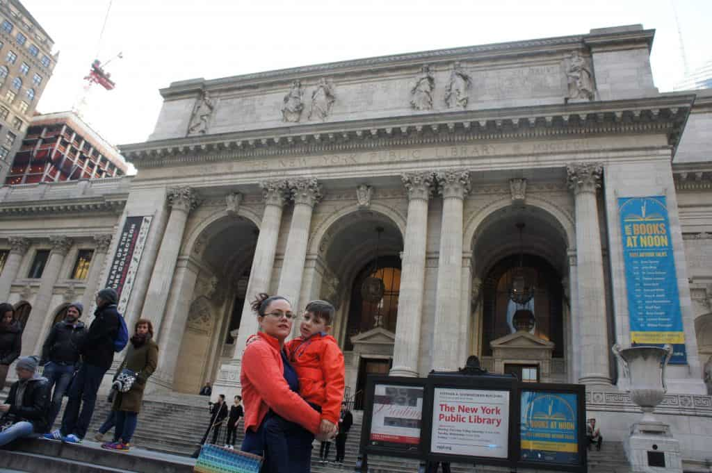 New York Public Library Outside