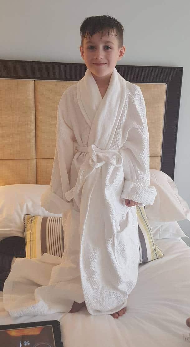Dressing Gown at Ritz Carlton Naples