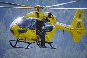 Helicopter rescue - travel insurance
