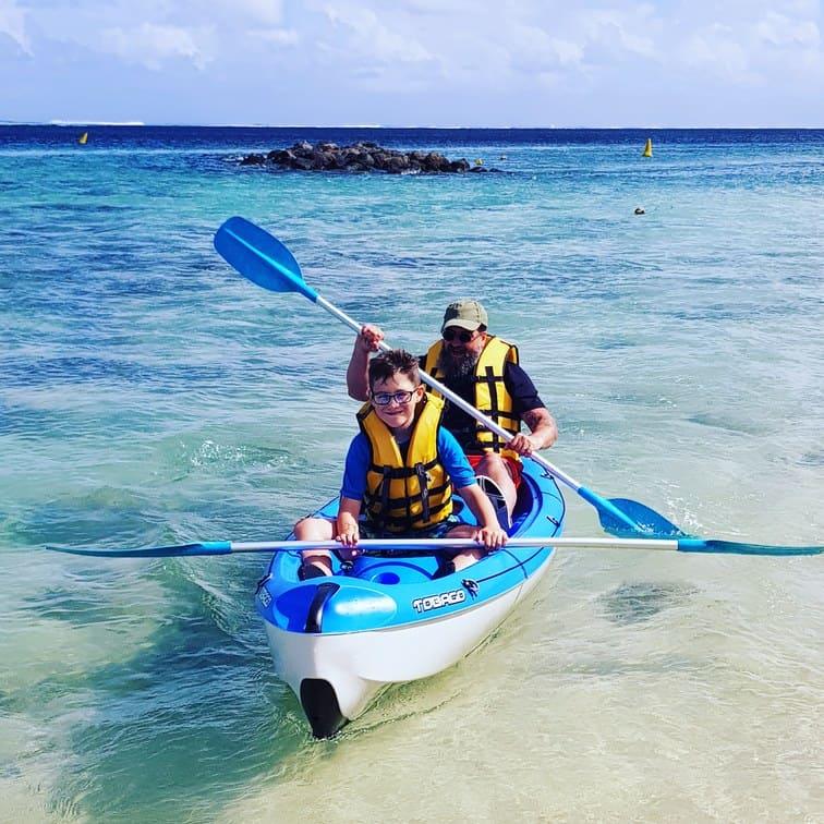 Tamassa Resort, Mauritius Canoeing