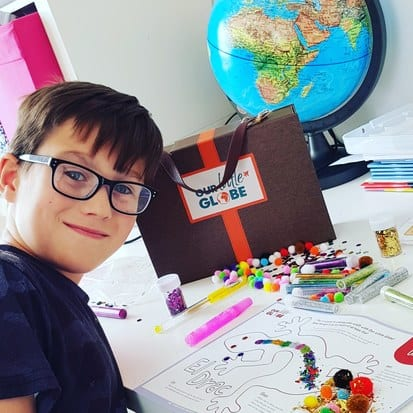 Kids subscription boxes - Our Little Globe #geography #homeeducation #homeschooling