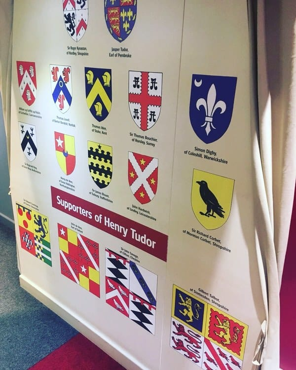 Supporters of Henry Tudor