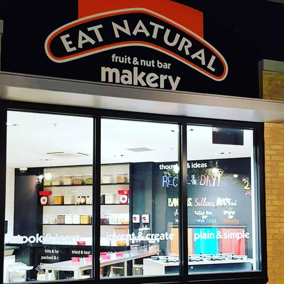 Kidzania London Eat Natural Shop