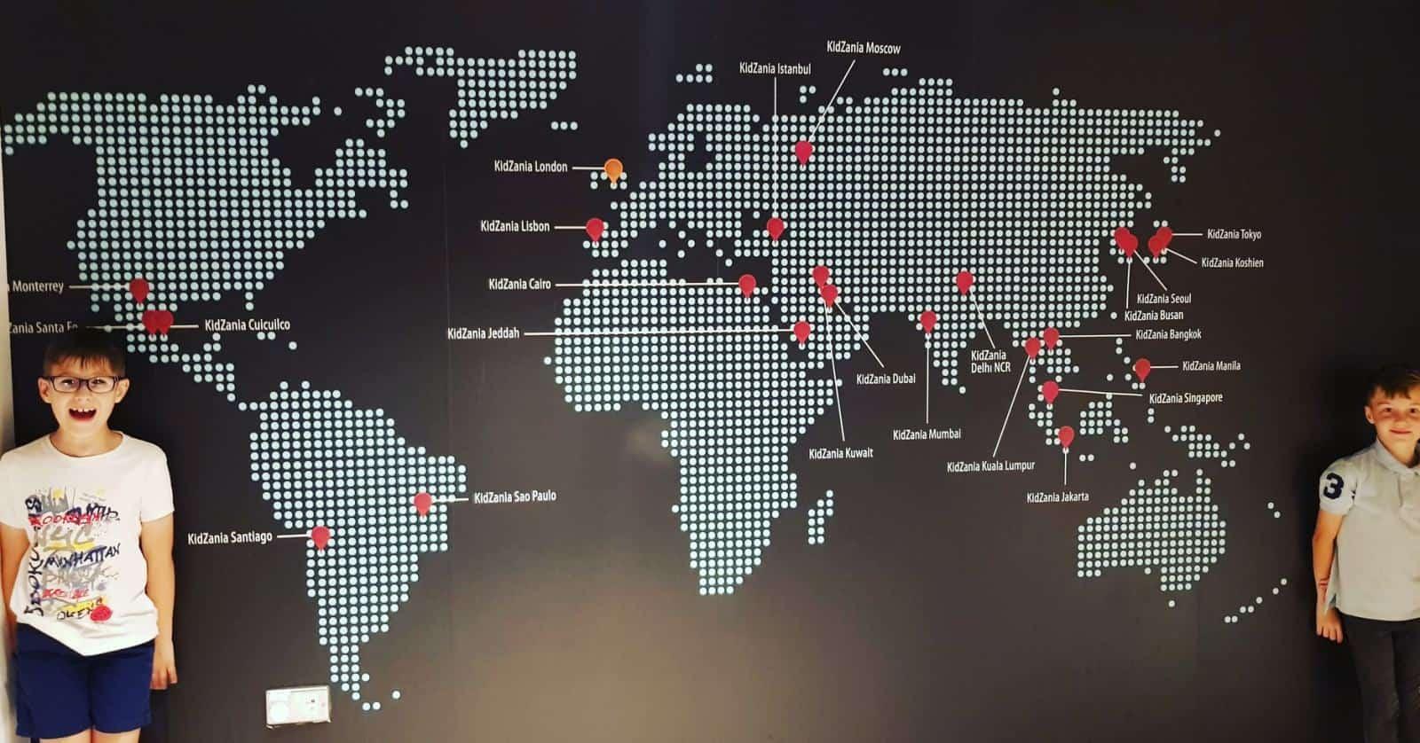 Kidzania Locations