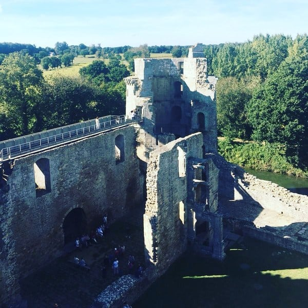 La Hunaudaye Castle, Brittany France