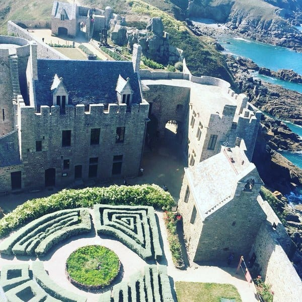 Fort La Latte, The best places to visit in Côtes-d'Armor, Brittany #france #travelblog
