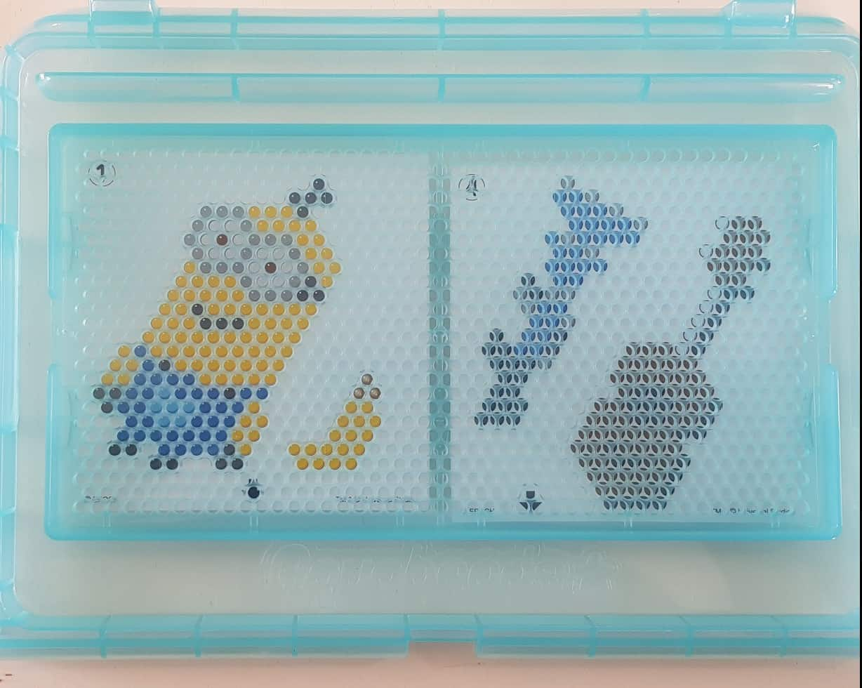 aquabeads minions playset tray