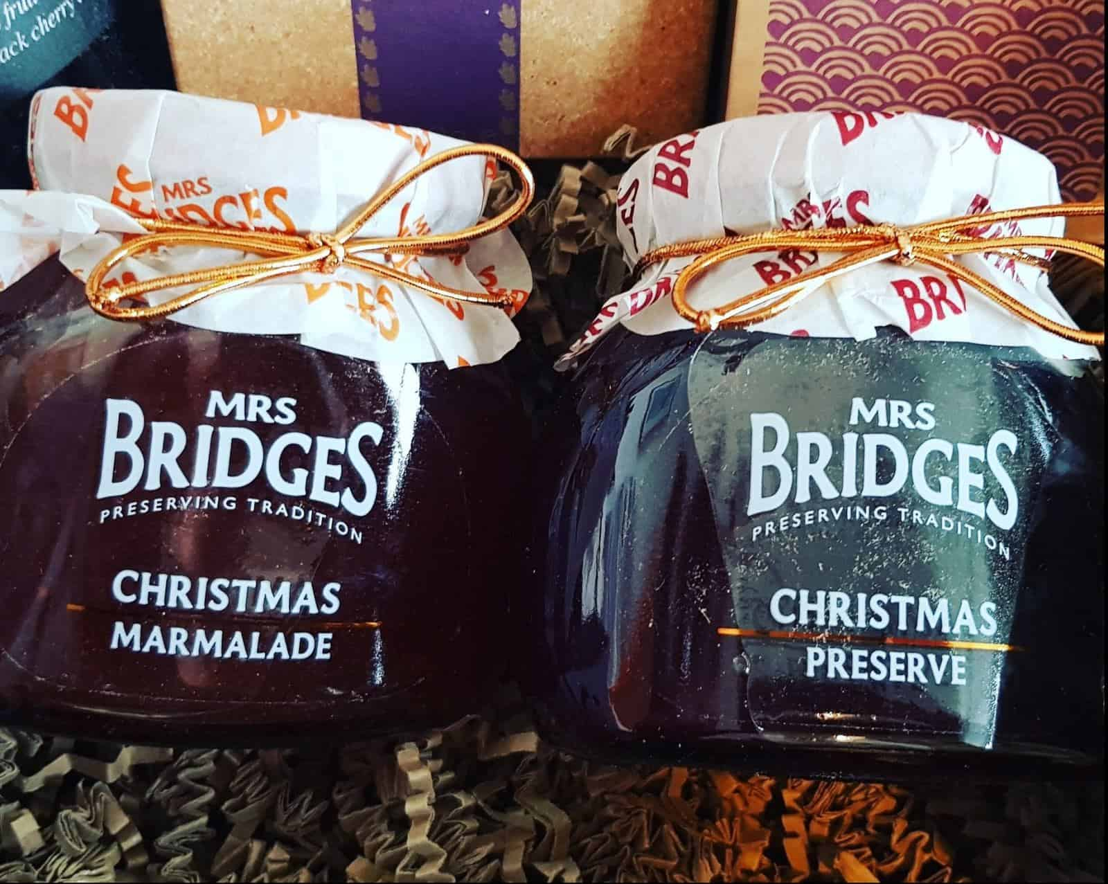 Mrs Bridges Christmas Preserves - Prestige Hampers