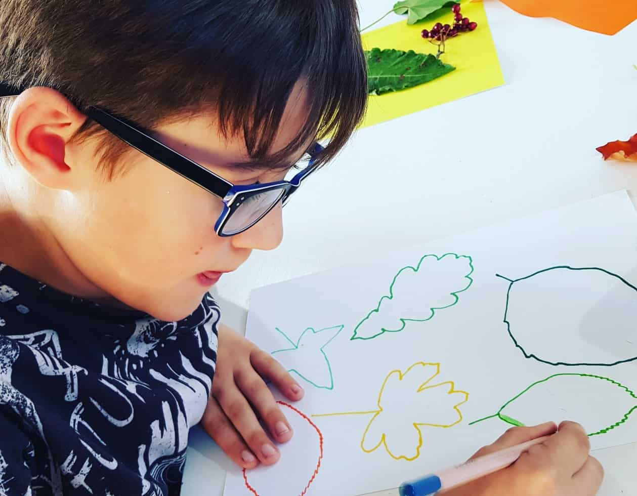 leaf craft activities with kids