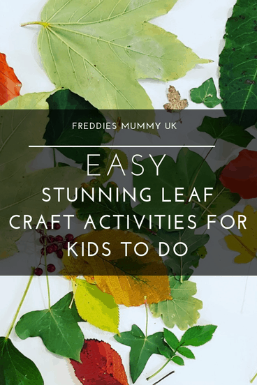 Easy Stunning Leaf Craft Activities For Kids To Do #fall #art #crafts #autumn #leafart #homeschool #homeeducation #learningathome #artsandcrafts