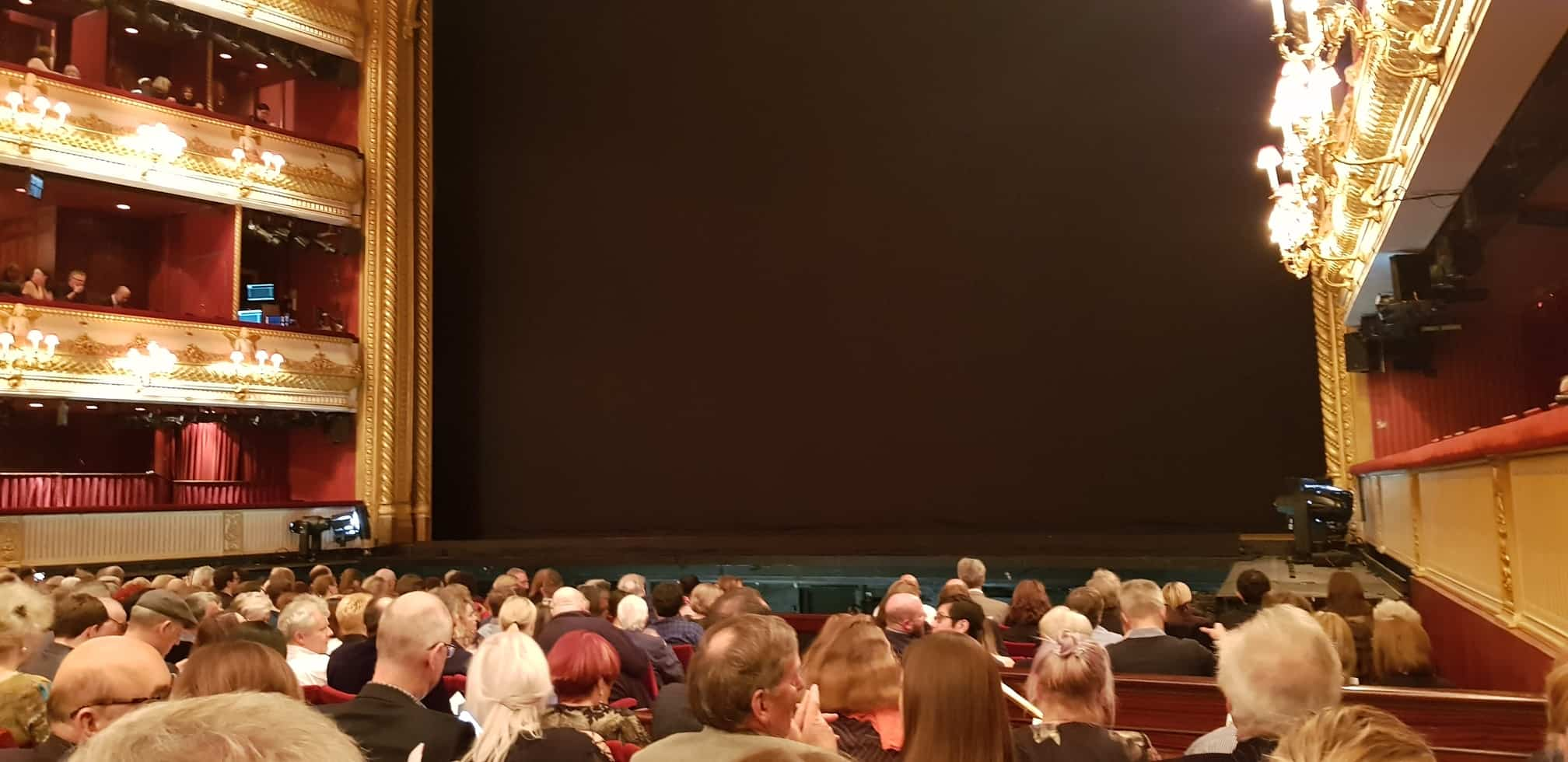 Stage of Carmen at ROH