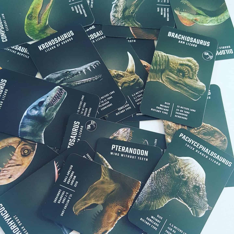 4D+ Utopia 360° Dinosaur Cards